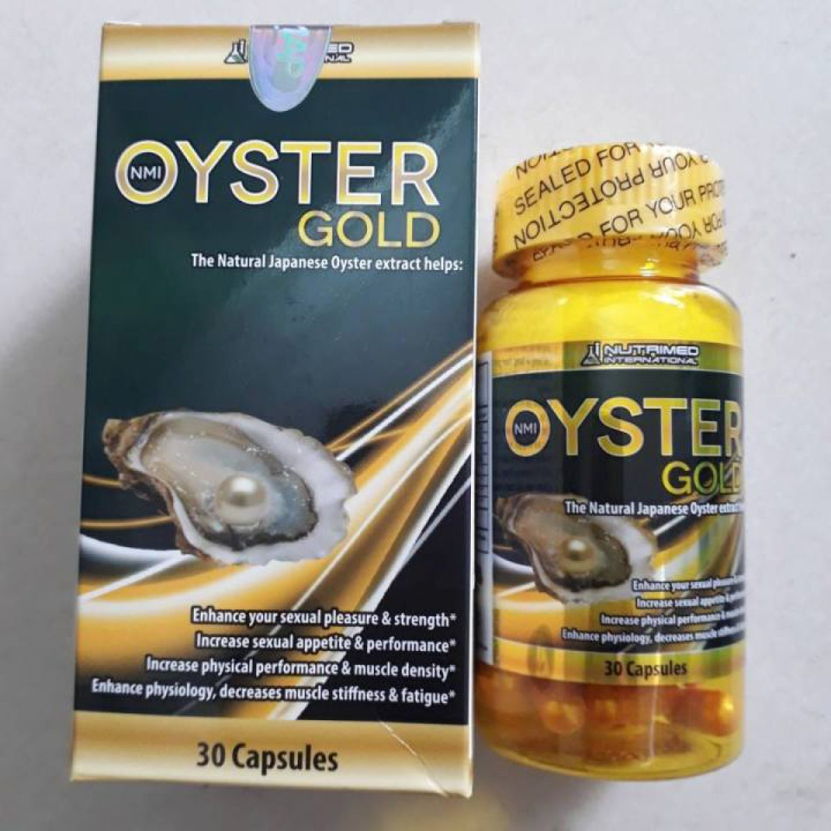 NMI Oyster Gold
